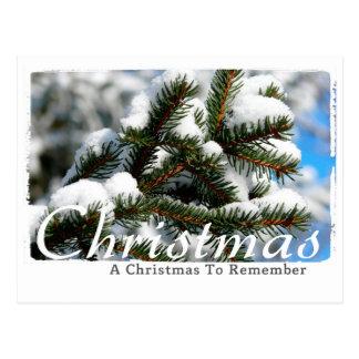 Christmas Photography Postcard
