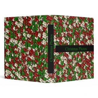 Christmas Photos Binder binder