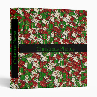 Christmas Photos Binder