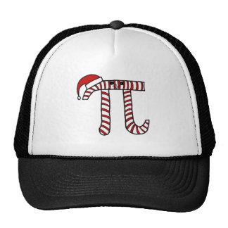 Christmas Pi Cartoon Math Geek Trucker Hat