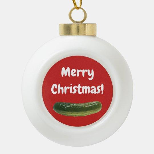 Christmas Tree Pickle Ornament.Christmas Pickle Ornament For The Christmas Tree