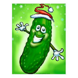 Christmas Pickle Postcard