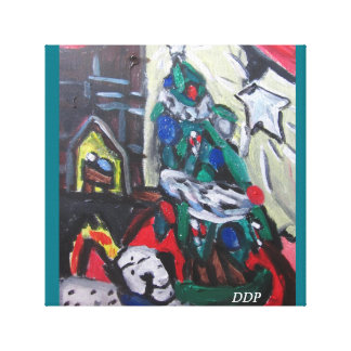 Christmas picture canvas print