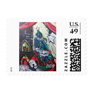 Christmas picture stamp