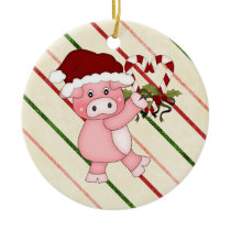 Christmas Pig ornament