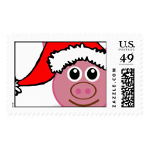 christmas pig postage