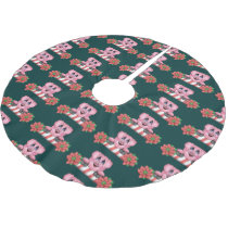 Christmas Pig Tree Skirt