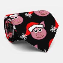****CHRISTMAS PIGGY**** CHRISTMAS TIE