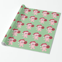Christmas Piggy Holiday Wrapping Paper