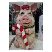 CHRISTMAS PIGGY-NO MARKET-JUST CHRISTMAS WISH CARD