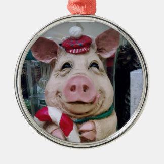 CHRISTMAS PIGGY ORNAMENT