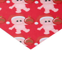 Christmas pigs Holiday pattern tissue paper