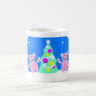 Christmas Pigs Mug