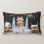 Christmas, pillow,Santa,Claus,snowman,bunny's Pillows
