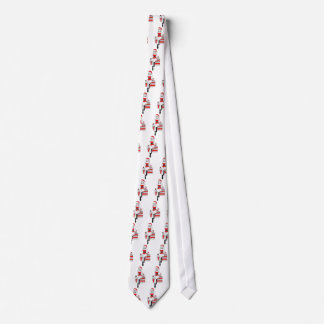 Christmas Pin-up Girl Neck Tie