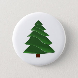 Christmas Pine Button