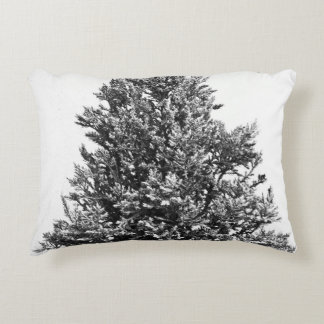 Christmas Pine Tree Accent Pillow