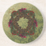 Christmas Pinecones Coasters