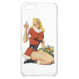 Christmas Pinup iPhone 5C Case