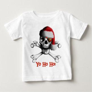 Christmas Pirate Baby T-Shirt