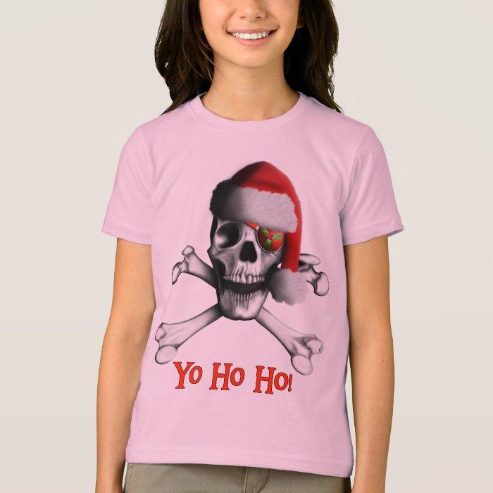 Christmas Pirate Girls Tee