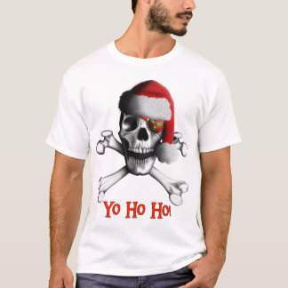 Christmas Pirate Ladies Shirt