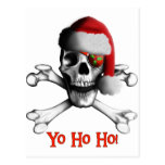 Christmas Pirate Post Card