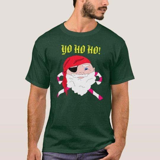 Christmas Pirate Santa Shirt