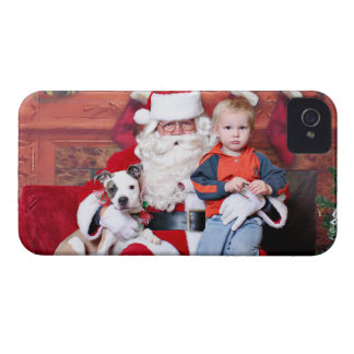Christmas - Pitbull X - Stella iPhone 4 Covers