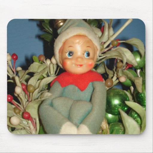 Christmas Pixie Mouse Pads