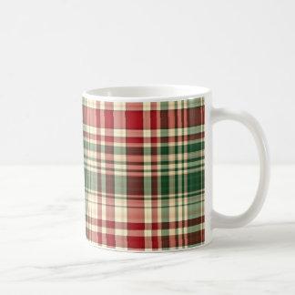 Christmas Plaid 06-11oz Coffee Mug