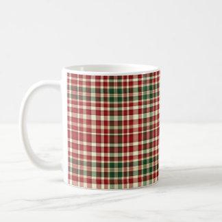 Christmas Plaid 11-11oz Coffee Mug