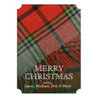 Christmas Plaid Card