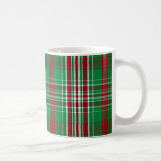 Christmas Plaid Coffee Mug