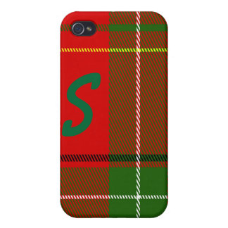 Christmas Plaid iPhone 4 Case