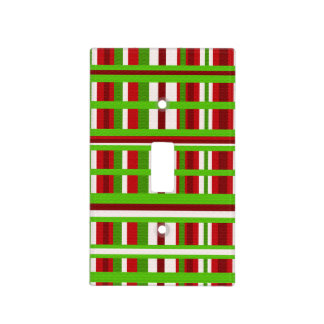 Christmas Plaid Light Switch Cover