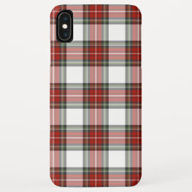 Christmas Plaid Red Tartan Check iPhone Cover Case