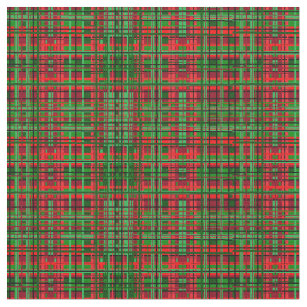 Christmas Plaid Tartan Fabric