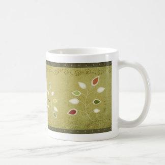 christmas plants mug