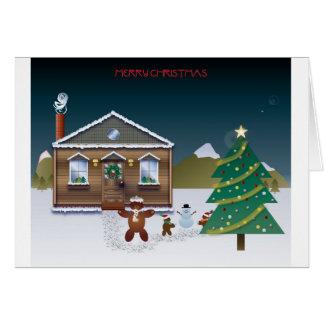 Christmas Play Card