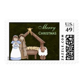 Christmas Play Postage