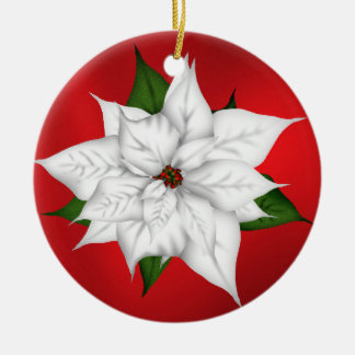 Christmas Poinsettia Holiday decorations