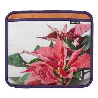 Christmas Poinsettia iPad Sleeve