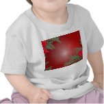 Christmas Poinsettia Red VI T Shirt