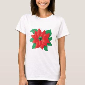 Christmas Poinsettia Shirt