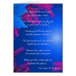 Christmas Poinsettia Will You Be My Bridesmaid Cards