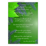 Christmas Poinsettia Will You Be My Bridesmaid Greeting Card