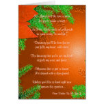 Christmas Poinsettia Will You Be My Bridesmaid Greeting Cards