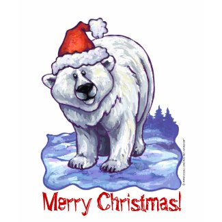 Christmas Polar Bear Long Sleeve Shirt shirt