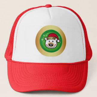 Christmas Polar Bear Trucker Hat
